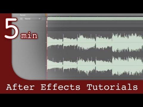 Effects Tutorıal Sonra: Etkileri Ders Sonra Ses Girişi