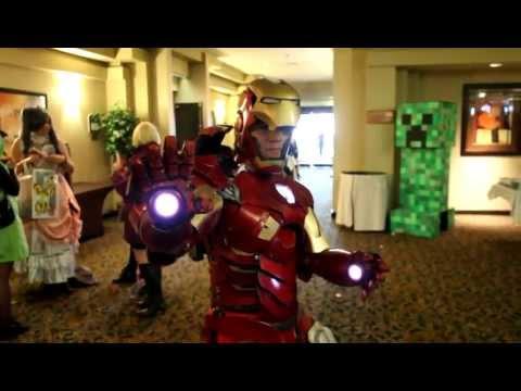 Korku Veren Demir Adam Mark 7 Kostüm @ Animeland Wasabi 2012 Hızlı Bir Bakış