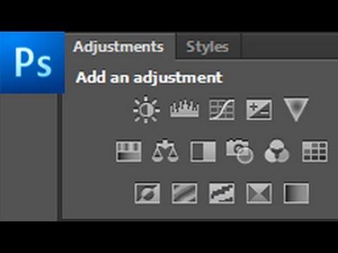 60 İkinci Photoshop Öğretici: Kullanarak Ayarlama Katmanları - Hd-