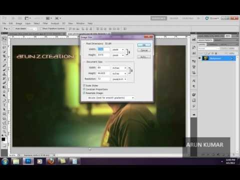 Photoshop Cs5 Görüntü Boyutu Bölüm 15