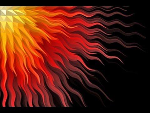 Photoshop: Nasıl Bir Geometrik Sunburst Ve Yıldız Patlaması Tasarım Yapmak