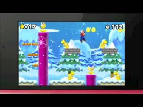 Yeni Resmi Süper Mario Bros 2 3Ds Duyuru Römork Wii Oyun Ağustos 2012 Çıkış Tarihi