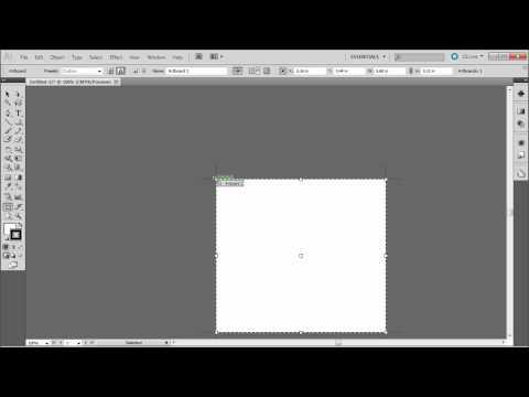 60 İkinci Illustrator Eğitimi: Değiştirme Çalışma Yüzeyi (Belge Ayarları) - Hd-