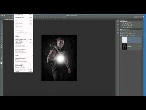 Photoshop Öğretici: Bir Işık Source.mov Ekleme