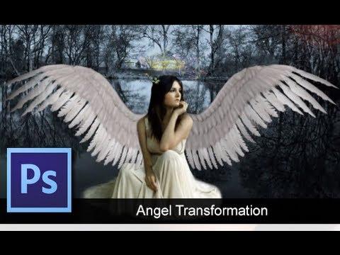 Adobe Photoshop Cs6 - Angel Dönüşüm [Hız Sanat]