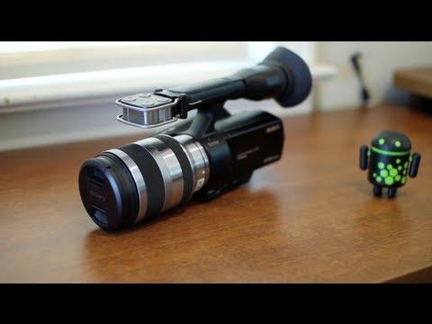 Sony Nex-Vg20 İnceleme!