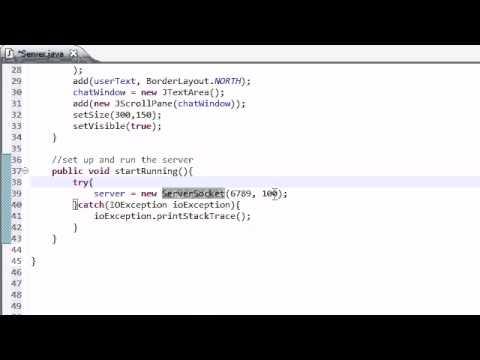 Java Öğretici - 40 - Ayarı Sunucu Orta