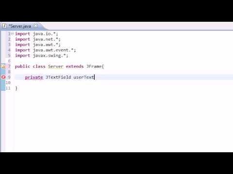 Orta Java Öğretici - 38 - Harika Anlık İleti Programı İle Akarsu Ve Yuva