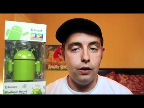 Hediye! Android Bluetooth Robot Ses Kutusu! 4000 Abone Gıveaway! (Kapalı)