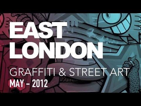 Doğu Londra Grafiti Ve Street Art - Mayıs 2012