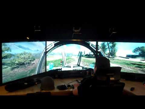 "Battlefield 3 Gtx 590 Gizli Nvidia Surround 46"" Ekranlar"