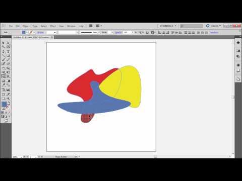 60 İkinci Illustrator Eğitimi: Şekil Oluşturucu Aracı - Hd-