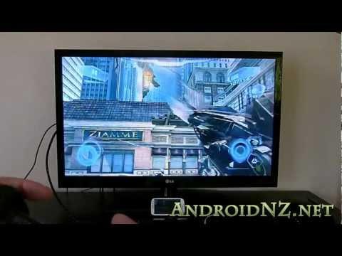 Galaxy S3: Demo Ve Nova 3 Oynamak İçin Kılavuz Bir Hdtv Kablosuz Olarak Bir Ps3 Denetleyicisi Tarafından Denetlenen