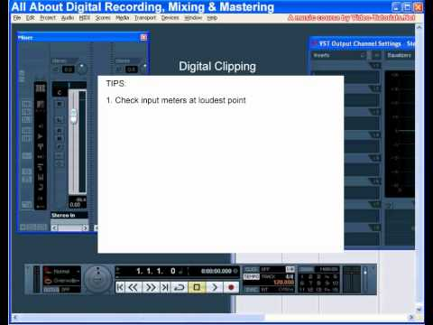 Kayıt, Karıştırma Ve Temelleri - Video-Tutorials.net Tarafından Kırpma Dijital Mastering