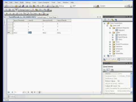 Visual Temel / Visual Studio Video Özel Öğretmen - İlişkisel Veritabanları