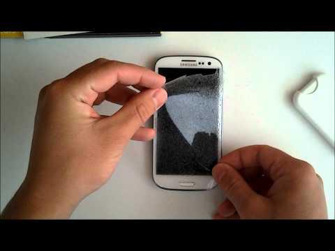 Zagg Görünmez Kalkan İçin Samsung Galaxy S3