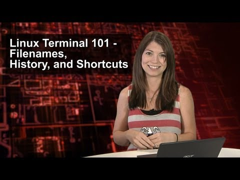 Haktip - Linux Terminal 101 - Dosya Adlarını, Tarih Ve Kısayolları