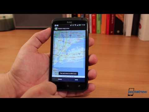 Android İzlenecek Yol İçin Google Haritalar Çevrimdışı