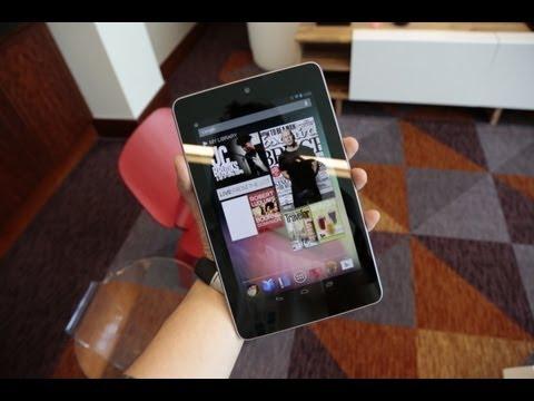 İlk Bakış: Google Nexus 7 Tablet Ve Android 4.1 Jöle Fasulye!