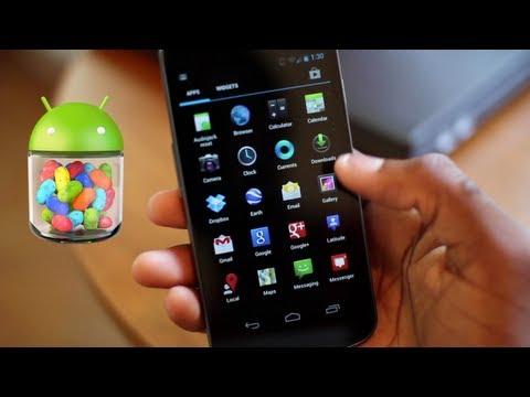 Tepe 5 Android 4.1 Jellybean Şekil!