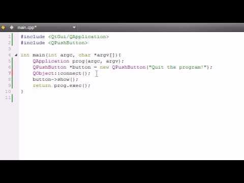 C++ Guı İle Qt Öğretici - 6 - Sinyalleri Ve Yuvaları