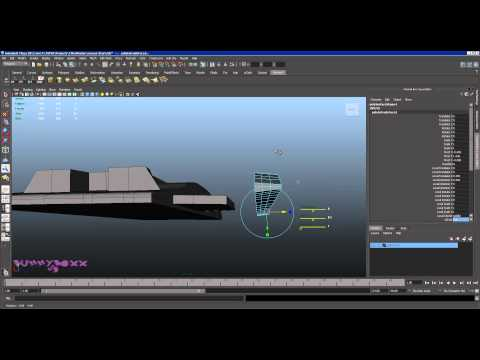 Autodesk Maya Sert Yüzey Modelleme Bölüm 3