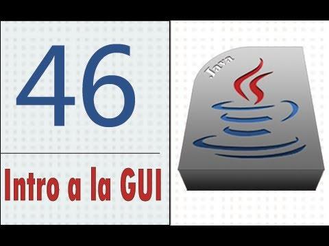 Öğretici Java - 46 - Intro A La Guı.