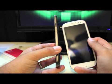 Verizon Galaxy S Iıı Unboxing Ve Gözden Geçirme