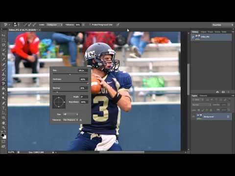 Arka Plan Silgisi Aracı (Hd) Photoshop Araçları Eğitimi