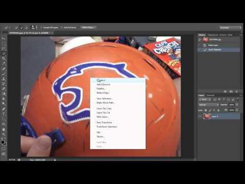 Hızlı Seçim Aracı (Hd) Photoshop Araçları Eğitimi