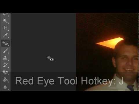 Kırmızı Göz Aracı (Hd) Photoshop Araçları Eğitimi