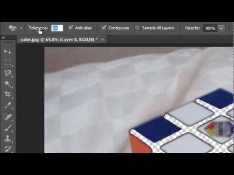 Sihirli Silgi Aracı (Hd) Photoshop Araçları Eğitimi