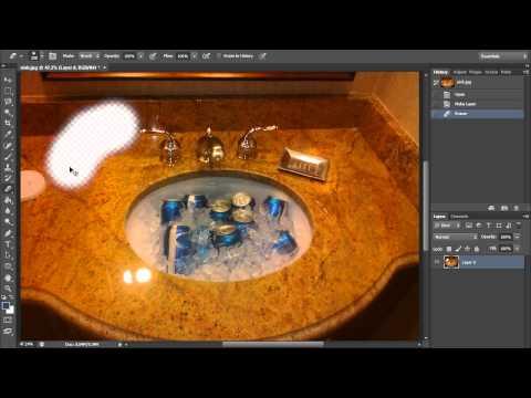 Silgi Aracı (Hd) Photoshop Araçları Eğitimi