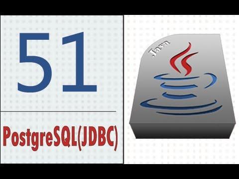 Öğretici Java - 51 - Libreria Postgresql(Jdbc).