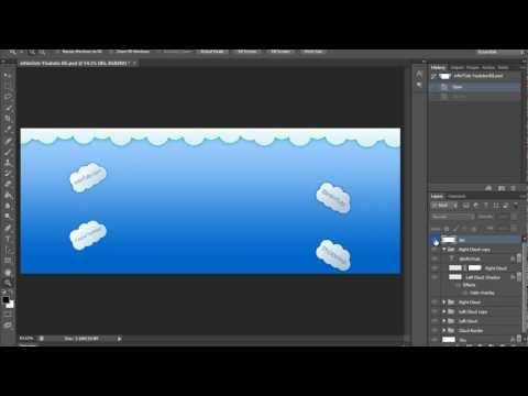 Nasıl Youtube Arka Plan (Hd) Photoshop Eğitimi Yapmak