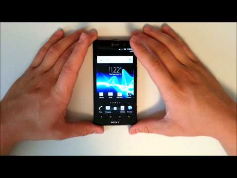 Sony Xperia İyon At&t - Unboxing Ve Hızlı Gözden Geçirme