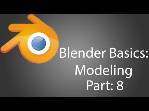 Blender Temelleri-Modelleme Tabanca Bölüm 8