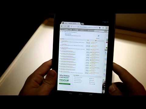 Nexus 7 İlk İzlenimler/inceleme