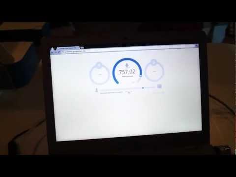 Google Elyaf 1Gb Internet Hız Testi
