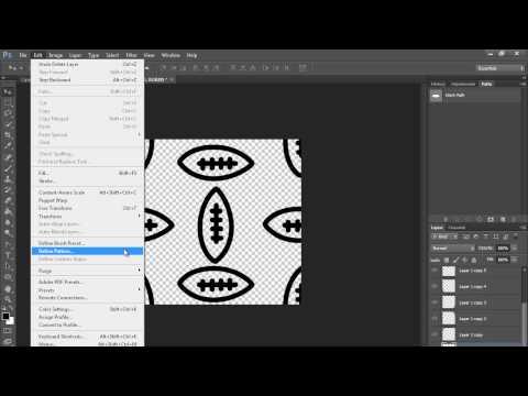Nasıl Bir Desen (Hd) Photoshop Öğretici Yapmak