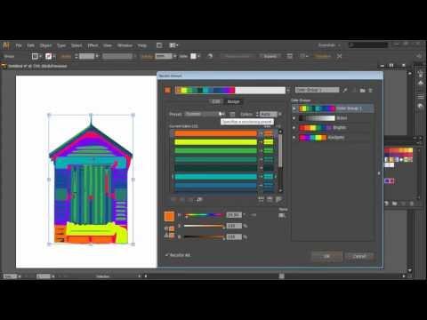 Illustrator Uygulaması Canlı Boyama Nasıl Bölüm 2