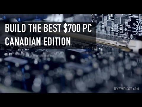 En İyi $700 Pc - Kanada Baskı (Ağustos 2012) Kurmak.