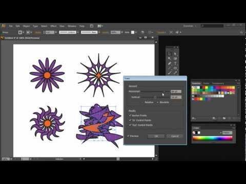Illustrator Yapmak Karmaşık Şekilleri'nden Basit Parçalar Part1