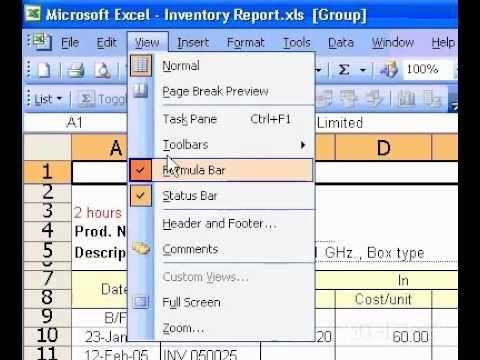 Microsoft Office Excel 2003 Yerleştirin Bir Grafiği Üstbilgi Veya Altbilgi