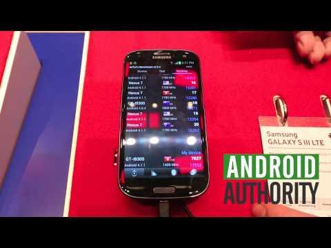 Siyah Samsung Galaxy S3 Lte - İlk Bakış - Ifa 2012