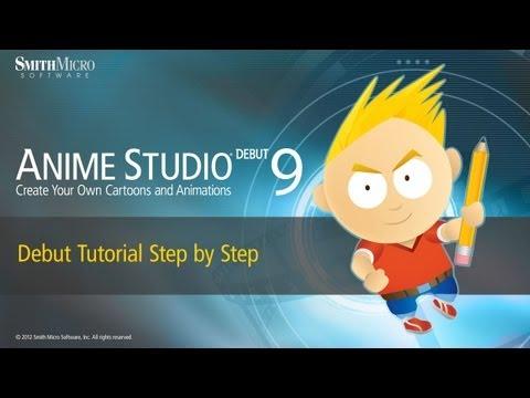 Anime Studio 9 İlk Eğitimi - Adım Adım Tutorial