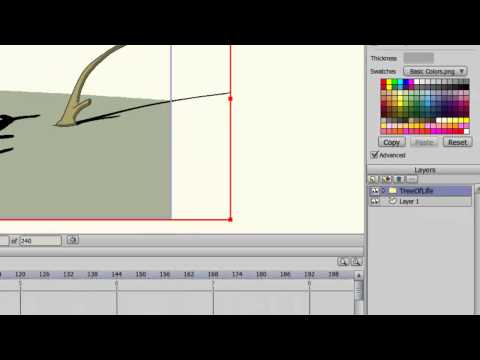 Anime Studio 9 İlk Öğretici - İçe Aktarma