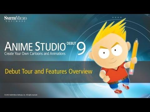 Anime Studio 9 İlk Tur Ve Özelliklere Genel Bakış