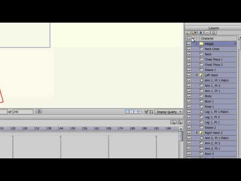 Anime Studio 9 Ve 9.5 Pro Eğitimi - Gelişmiş Kemik Arma