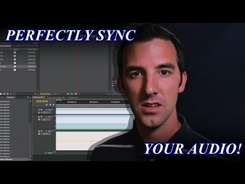 Mükemmel Senkronizasyon Ses Premiere Pro